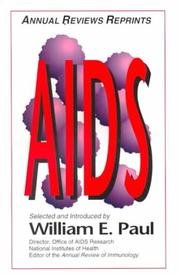 Cover of: AIDS (Annual Reviews Reprints)