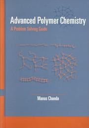 Cover of: Advanced Polymer Chemistry