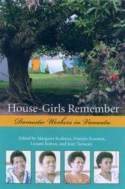 Cover of: House-girls remember