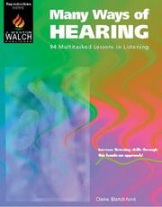 Cover of: Many Ways of Hearing