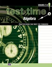 Cover of: Test Time!  Practice Books That Meet The Standards | Walch