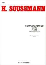 Cover of: Complete Method for the Flute (German and English Text) - Part II