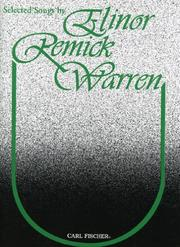 Cover of: Selected Songs | Elinor Remick Warren