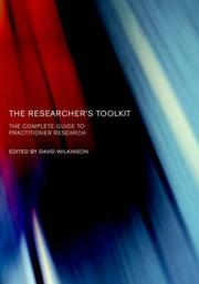 Cover of: Researcher's Toolkit