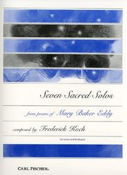 Cover of: Seven Sacred Solos: Voice and Keyboard