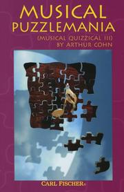 Cover of: Musical Puzzlemania
