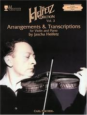 Cover of: The Heifetz Collection, Vol. 3