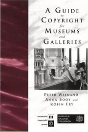 Cover of: Guide to Copyright for Museums and Galleries