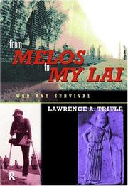 Cover of: From Melos to My Lai