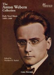 Cover of: The Anton Webern Collection