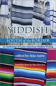 Cover of: Yiddish south of the border