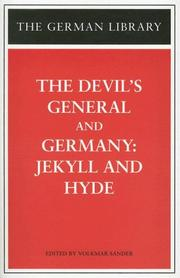 Cover of: The Devil's General/ Germany by Sebastian Haffner