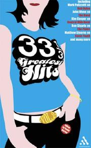 Cover of: 33 1/3 Greatest Hits, Volume 2 (33 1/3)