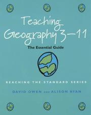 Cover of: Teaching Geography 3-11 | David Owen