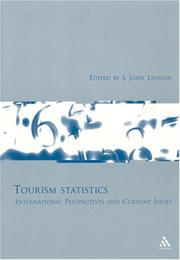 Cover of: Tourism Statistics