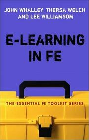 Cover of: E-Learning in FE (Essential Fe Toolkit)