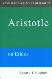 Cover of: Routledge Philosophy Guidebook to Aristotle on Ethics