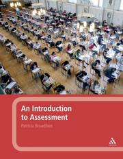 Cover of: An Introduction to Assessment