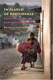 Cover of: In Search of Providence | Patricia Foxen