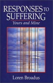 Cover of: Responses to Suffering