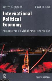 Cover of: International Political Economy