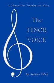 Cover of: Tenor Voice | Anthony Frissell