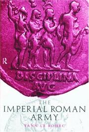 Cover of: The Imperial Roman Army | Yann Le Bohec