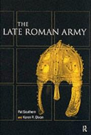 Cover of: The Late Roman Army