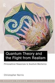 Cover of: Quantum Theory and the Flight From Realism