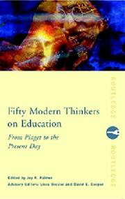 Cover of: Fifty Modern Thinkers on Education