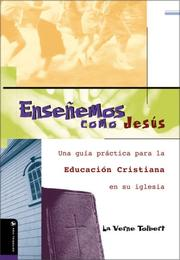Cover of: Enseñando Como Jesús