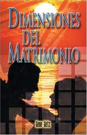 Cover of: Dimensiones del Matrimonio