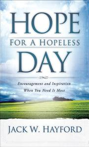 Cover of: Hope for a hopeless day