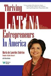 Cover of: Thriving Latina Entrepreneurs in America | Maria De Lourdes Sobrino
