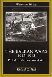 Cover of: Balkan Wars 1912-1913 | Richard C. Hall