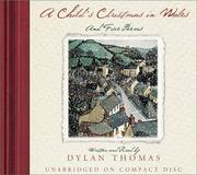Cover of: A Child's Christmas In Wales CD