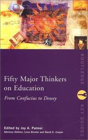 Cover of: Fifty Major Thinkers on Education