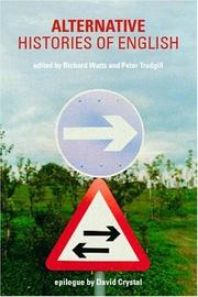 Cover of: Alternative Histories of the English Language | Richard Watts