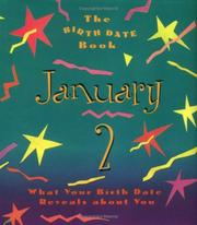 Cover of: The Birth Date Book January 2 | Ariel Books