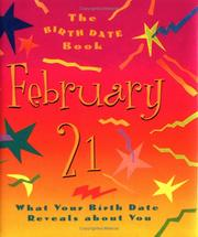 Cover of: Birth Date Gb February 21 | Ariel Books