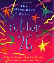 Cover of: The Birth Date Book October 26 | Ariel Books