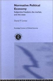Cover of: Normative Political Economy