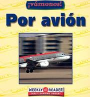Cover of: Por Avion/Going by Plane (Vamanos!/Going Places)