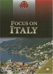 Cover of: Focus on Italy (World in Focus)
