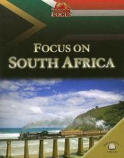 Cover of: Focus on South Africa (World in Focus)