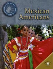 Cover of: Mexican Americans (World Almanac Library of American Immigration)
