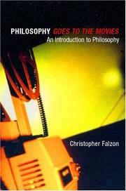 Cover of: Philosophy Goes to the Movies | Christop Falzon