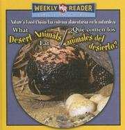 Cover of: What Desert Animals Eat/ Que Comen Los Animales Del Desierto? by Joanne Mattern