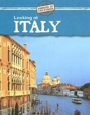 Cover of: Looking at Italy (Looking at Countries) | Jillian Powell