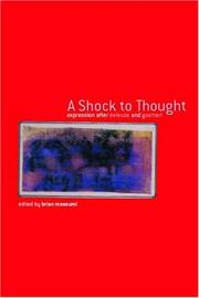A Shock to Thought: Expression After Deleuze and Guattari